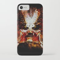 predator iPhone & iPod Cases featuring Predator by Sirenphotos