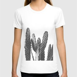 Cactus Photography Print {3 of 3} | B&W Succulent Plant Nature Western Desert Design Decor T-shirt