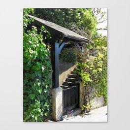Entry Canvas Print