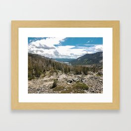 Tahoe Valley Framed Art Print