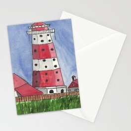 Coastal Tower Stationery Cards