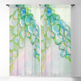 Moving In Different Directions, Abstract Painting Blackout Curtain