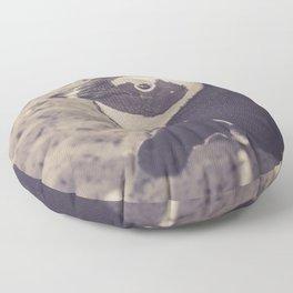 Adorable African Penguin Series 2 of 4 Floor Pillow