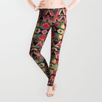 native Leggings featuring B / O / L / D by Bianca Green