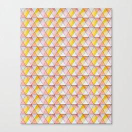 gentle watercolor pattern Canvas Print
