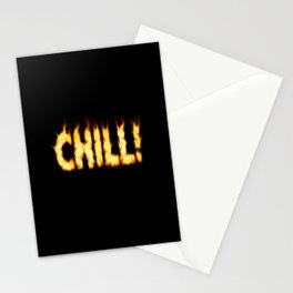 CHILL -TEE/HOODIE/BAG etc Stationery Cards