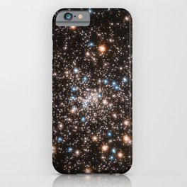 Hubble Space Telescope - Hubble's view of dazzling globular cluster NGC 6397 iPhone Case