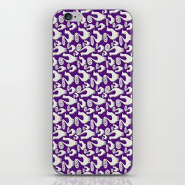 SNOOTY CATS PATTERN TAKE 2 iPhone Skin