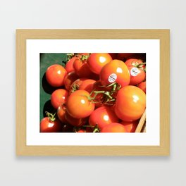 Tomatoes Framed Art Print