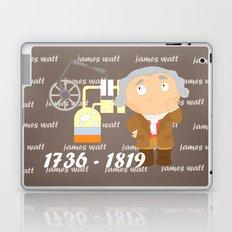 James Watt Laptop & iPad Skin