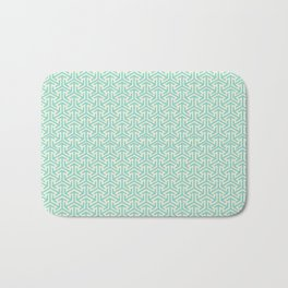 Tri-Star Teal Bath Mat
