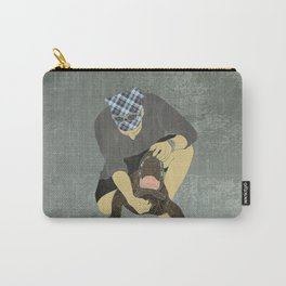 Alligator wrestling Carry-All Pouch