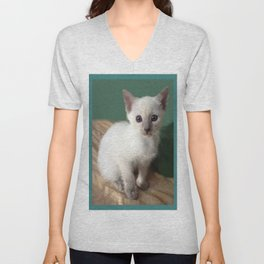 Am I Adorable? Or What? Unisex V-Neck