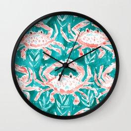 GONE CRABBIN' Wall Clock