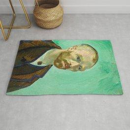 Van Gogh - Self-portrait Dedicated to Gauguin Rug