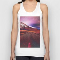 verse Tank Tops featuring Verse II by Polishpattern