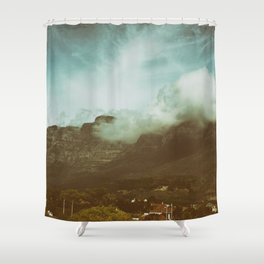 Over the Mountain Shower Curtain