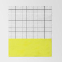 Scandi Grid Sq Y Throw Blanket