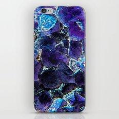 AMETHYST ABSTRACT iPhone & iPod Skin