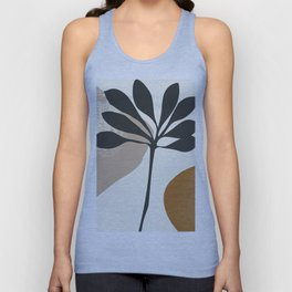 Abstract Art Plant2 Unisex Tank Top