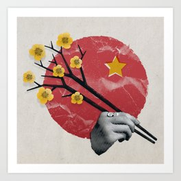 Love Letter to Vietnam Art Print