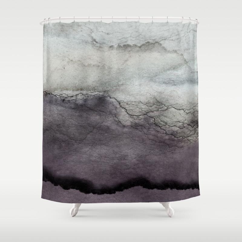 O R G A N I C 6 Shower Curtain