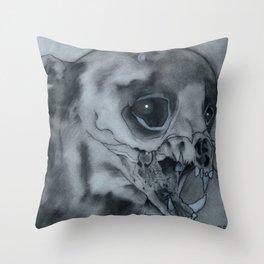 The Bearcat's Last Cry... Throw Pillow