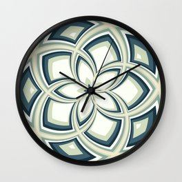 Spiral Rose Pattern E 3/4 Wall Clock