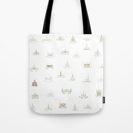 LDS Temples Tote Bag