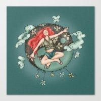 ying yang Canvas Prints featuring Ying Yang by Catru