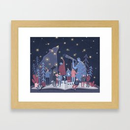 Astronomers Framed Art Print