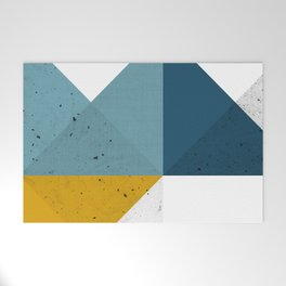 Modern Geometric 19 Welcome Mat