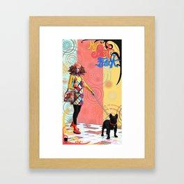 MySweetFreak - Molly2 Framed Art Print
