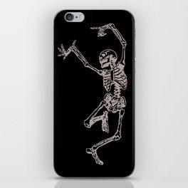Dancer Skeleton iPhone Skin