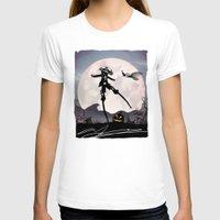 jack skellington T-shirts featuring Jack Skellington Kid by Andy Fairhurst Art