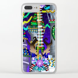 Fusion Keyblade Guitar #142 - Decisive Pumpkin & Stroke At Midnight Clear iPhone Case