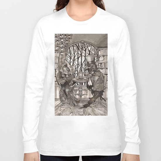 The Owl & The Raven Long Sleeve T-shirt