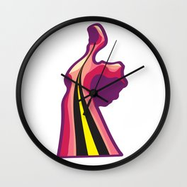 Hitchhiker's Thumb Wall Clock