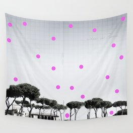 When in Rome Wall Tapestry