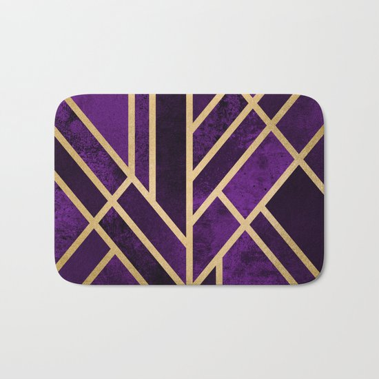 Art Deco Royal Bath Mat
