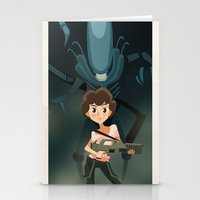 ripley Stationery Cards featuring Ripley by Alex Santaló