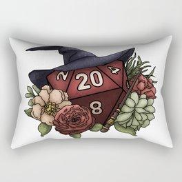 Wizard Class D20 - Tabletop Gaming Dice Rectangular Pillow