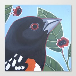 A towhee of Spots Canvas Print