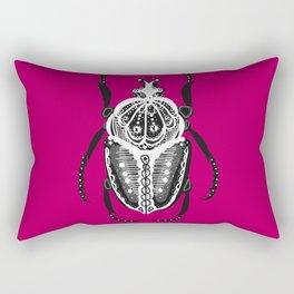Amiga Beetle Sangria Rectangular Pillow