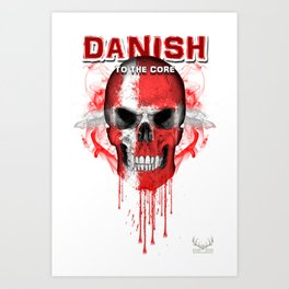 To The Core Collection: Denmark Art Print