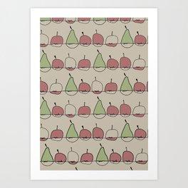 Apple and Pears Art Print