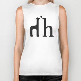 h is for high horse Biker Tank