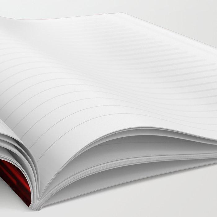 Raining Red Notebook