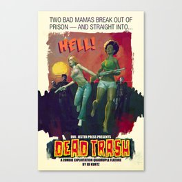 Dead Trash Canvas Print