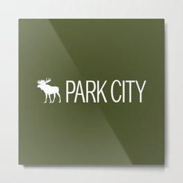 Utah: Park City Moose Metal Print